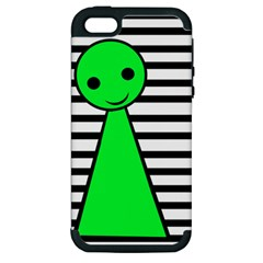 Green pawn Apple iPhone 5 Hardshell Case (PC+Silicone)
