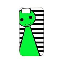 Green pawn Apple iPhone 5 Classic Hardshell Case (PC+Silicone)