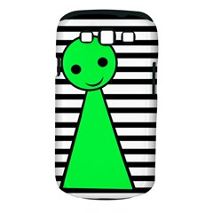 Green pawn Samsung Galaxy S III Classic Hardshell Case (PC+Silicone)