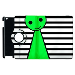 Green pawn Apple iPad 2 Flip 360 Case