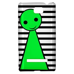 Green pawn HTC 8S Hardshell Case