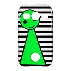 Green pawn Samsung Galaxy S7710 Xcover 2 Hardshell Case