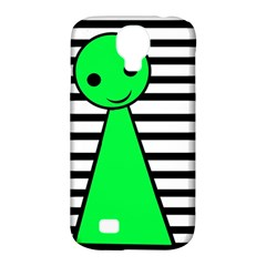 Green pawn Samsung Galaxy S4 Classic Hardshell Case (PC+Silicone)