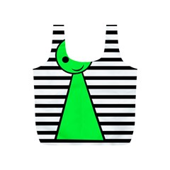Green pawn Full Print Recycle Bags (S)