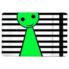 Green pawn iPad Air 2 Flip