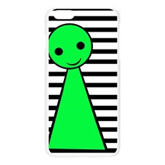 Green pawn Apple Seamless iPhone 6 Plus/6S Plus Case (Transparent)