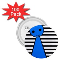 Blue pawn 1.75  Buttons (100 pack)