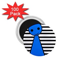 Blue pawn 1.75  Magnets (100 pack)