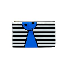Blue pawn Cosmetic Bag (Small)