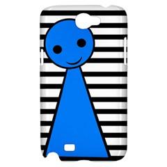 Blue pawn Samsung Galaxy Note 2 Hardshell Case