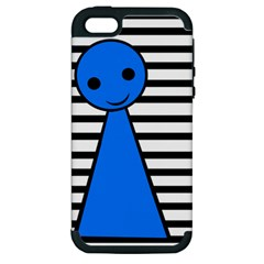 Blue pawn Apple iPhone 5 Hardshell Case (PC+Silicone)