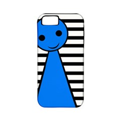 Blue pawn Apple iPhone 5 Classic Hardshell Case (PC+Silicone)