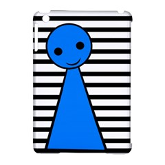 Blue pawn Apple iPad Mini Hardshell Case (Compatible with Smart Cover)