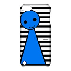 Blue pawn Apple iPod Touch 5 Hardshell Case with Stand