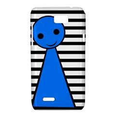 Blue pawn Motorola XT788