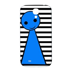 Blue pawn Samsung Galaxy S4 I9500/I9505  Hardshell Back Case
