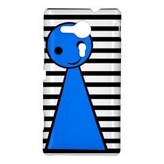 Blue pawn Sony Xperia SP