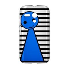 Blue pawn Motorola Moto G