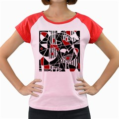 Artistic abstraction Women s Cap Sleeve T-Shirt