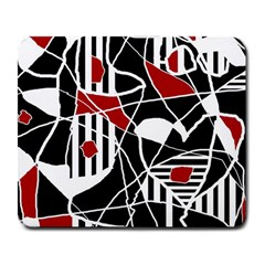 Artistic abstraction Large Mousepads