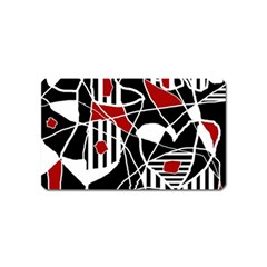 Artistic abstraction Magnet (Name Card)