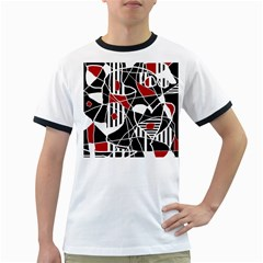 Artistic abstraction Ringer T-Shirts