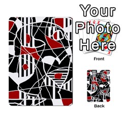 Artistic abstraction Multi-purpose Cards (Rectangle)