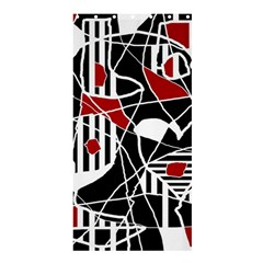 Artistic abstraction Shower Curtain 36  x 72  (Stall)