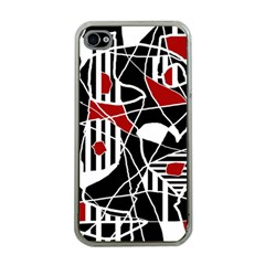 Artistic abstraction Apple iPhone 4 Case (Clear)
