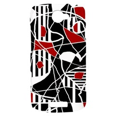 Artistic abstraction HTC One S Hardshell Case