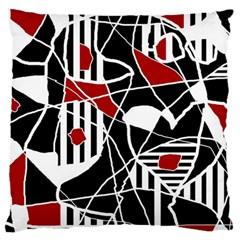 Artistic abstraction Large Cushion Case (One Side)