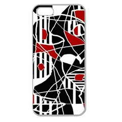 Artistic abstraction Apple Seamless iPhone 5 Case (Clear)
