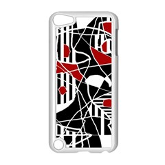 Artistic abstraction Apple iPod Touch 5 Case (White)