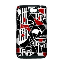 Artistic abstraction Samsung Galaxy Note 2 Hardshell Case (PC+Silicone)