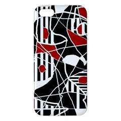 Artistic abstraction iPhone 5S/ SE Premium Hardshell Case