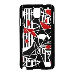 Artistic abstraction Samsung Galaxy Note 3 Neo Hardshell Case (Black)