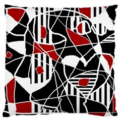 Artistic abstraction Large Flano Cushion Case (One Side)