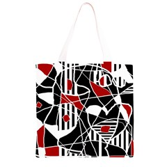 Artistic abstraction Grocery Light Tote Bag