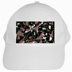 Artistic abstract pattern White Cap