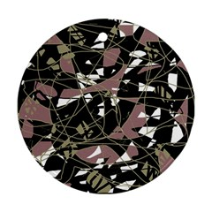 Artistic abstract pattern Ornament (Round)