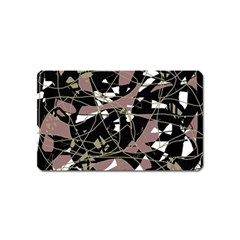Artistic abstract pattern Magnet (Name Card)