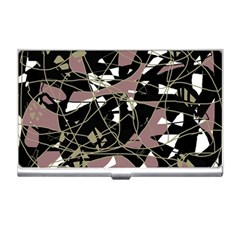 Artistic abstract pattern Business Card Holders