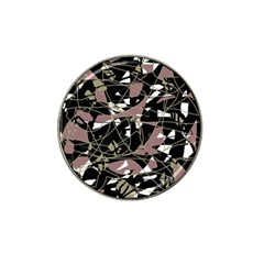 Artistic abstract pattern Hat Clip Ball Marker (4 pack)