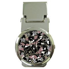 Artistic abstract pattern Money Clip Watches