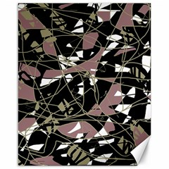 Artistic abstract pattern Canvas 16  x 20