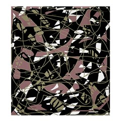 Artistic abstract pattern Shower Curtain 66  x 72  (Large)