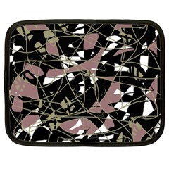 Artistic abstract pattern Netbook Case (XXL)