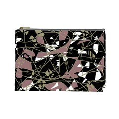 Artistic abstract pattern Cosmetic Bag (Large)
