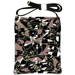Artistic abstract pattern Shoulder Sling Bags