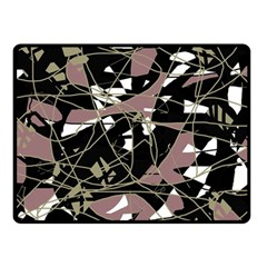 Artistic abstract pattern Fleece Blanket (Small)